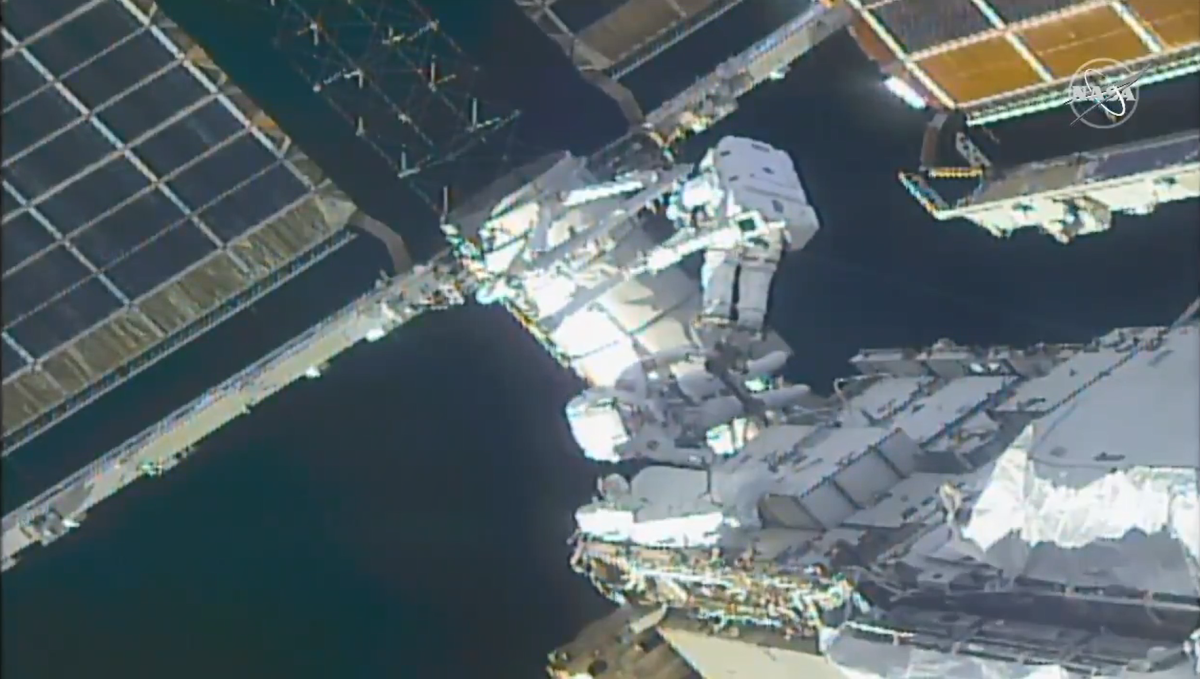 Spacewalking astronauts put together Worldwide House Station for brand new photo voltaic arrays