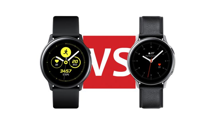 Samsung Galaxy Watch Active2 vs Samsung Galaxy Watch Active