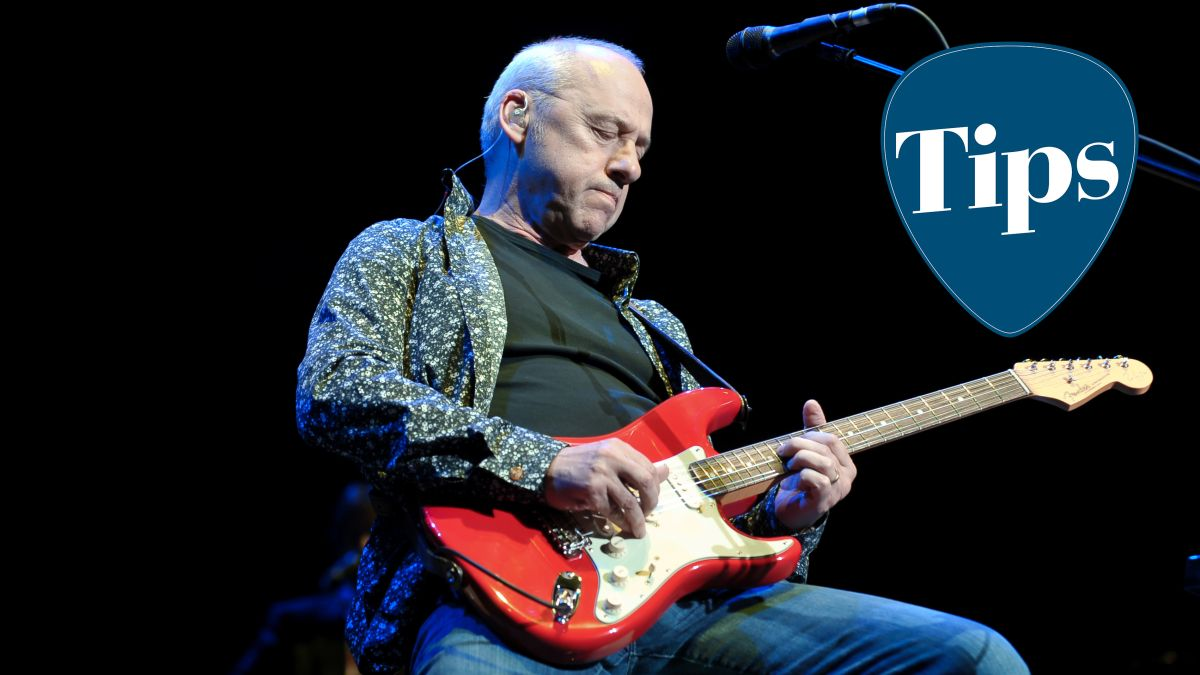 "Mark Knopfler pro tip and guitar warm-up exercise: ""You've got to stop associating emotion with tension"""