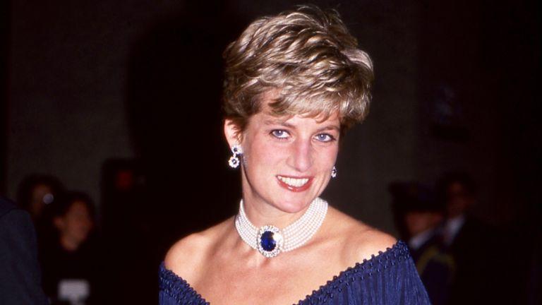 Princess Diana attended a Gala Performance by the London Symphony Chorus at the Royal Albert Hall, Kensington, London. UK 08.07.1991 -