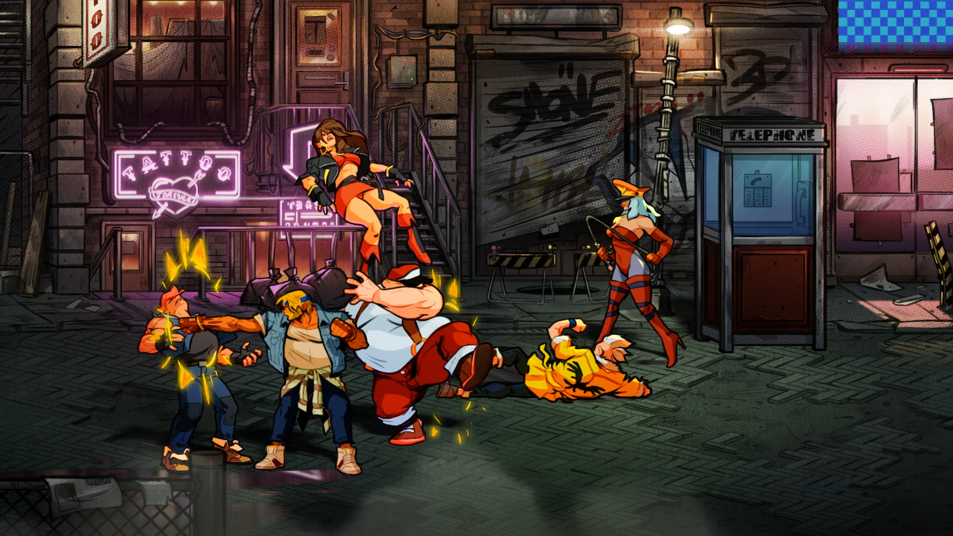 best Nintendo Switch games: Streets of Rage 4