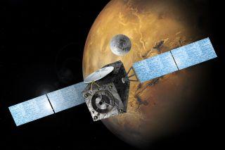 ExoMars Trace Gas Orbiter Image