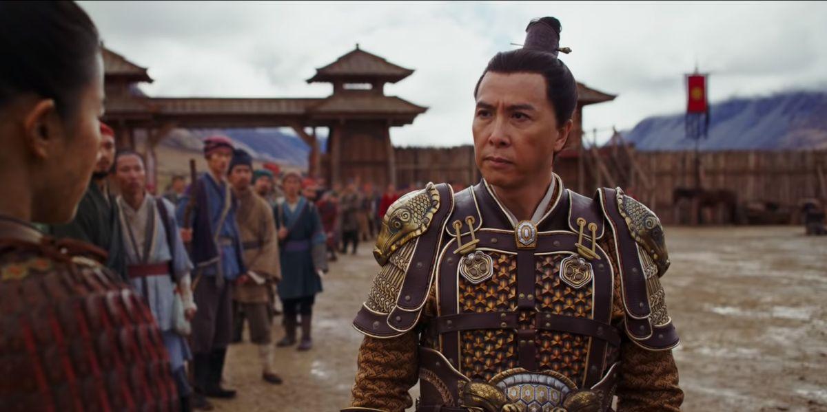 Donnie Yen as Captain Tung in Mulan