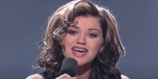 Kelly Clarkson on American Idol (2002)
