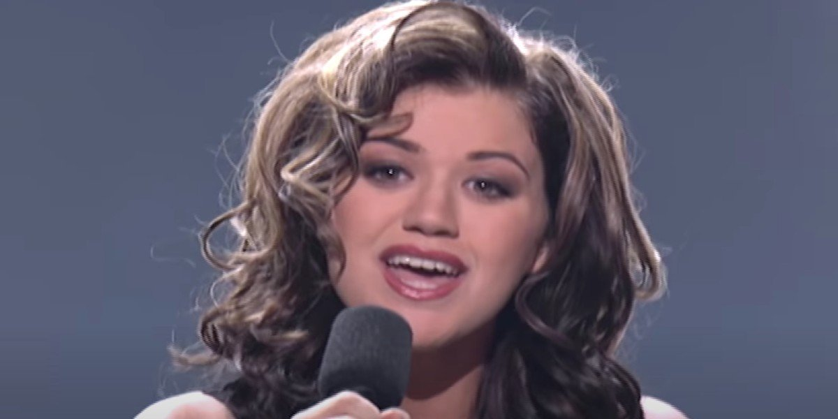 Kelly Clarkson on American Idol (2002)