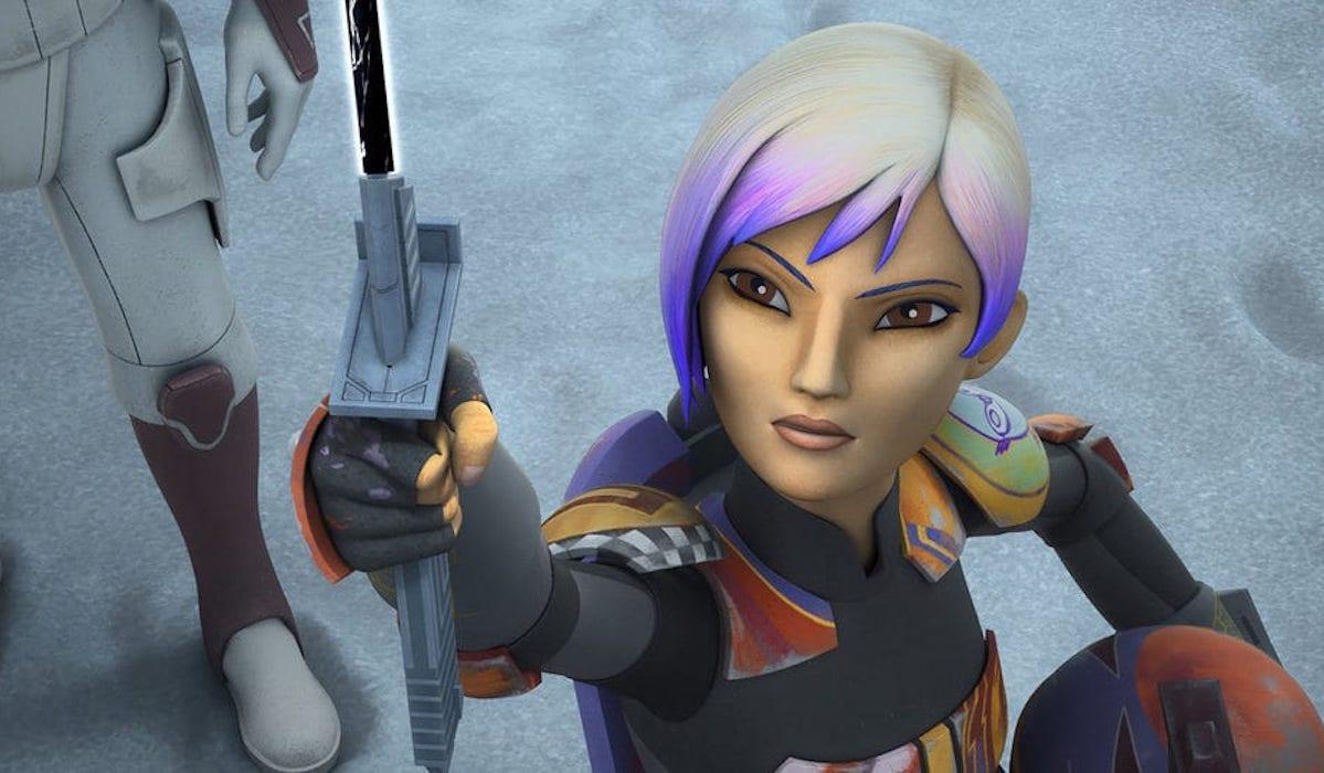 Sabine Wren in Star Wars: Rebels