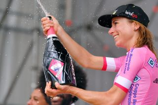 Annemiek van Vleuten (Mitchelton-Scott) wins the 2019 Giro Rosa