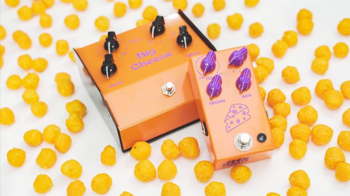 JHS Pedals has a tasty treat for your pedalboard with its Big Cheese clone