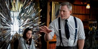 Daniel Craig and Ana de Armas in Knives Out