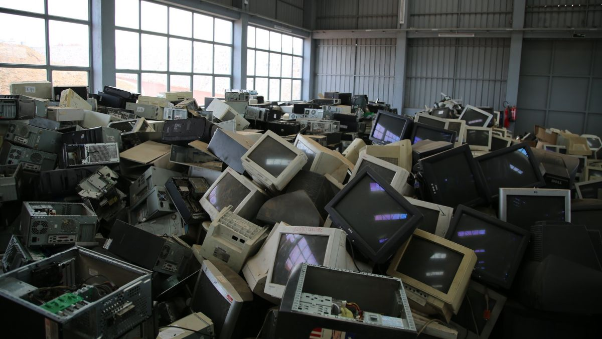 Electronic waste levels hit a new high in 2019