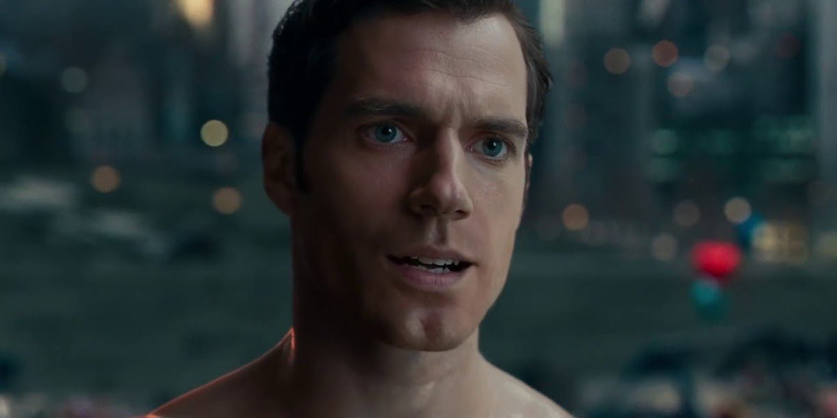 Henry Cavill as Superman in Justice League (2017)