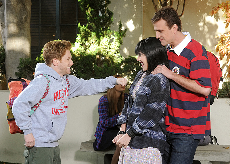See Buffy's Seth Green And Alyson Hannigan Reunited In How I Met Your Mother Photos #24799