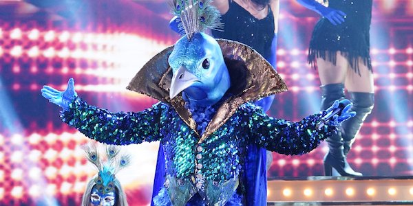 the masked singer peacock performing in the finale