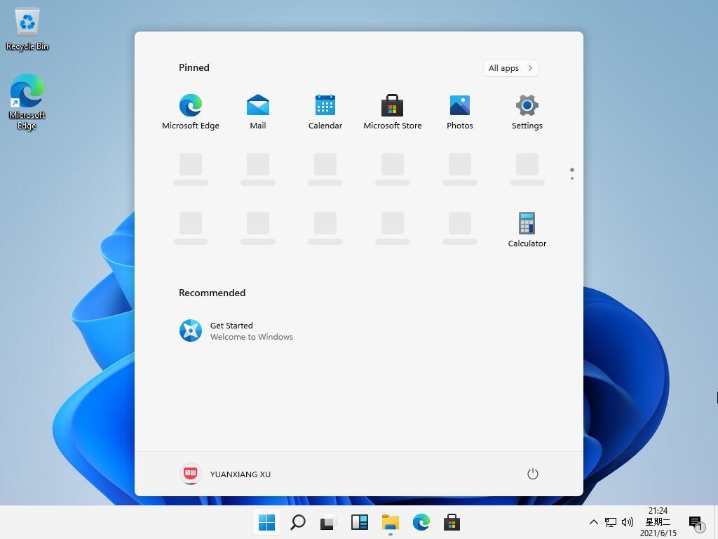 Alleged Windows 11 beta screenshots
