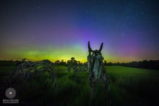 Springtime Aurora in Vermont