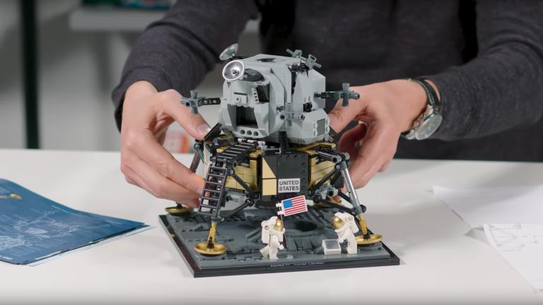 Lego Apollo Lunar Lander