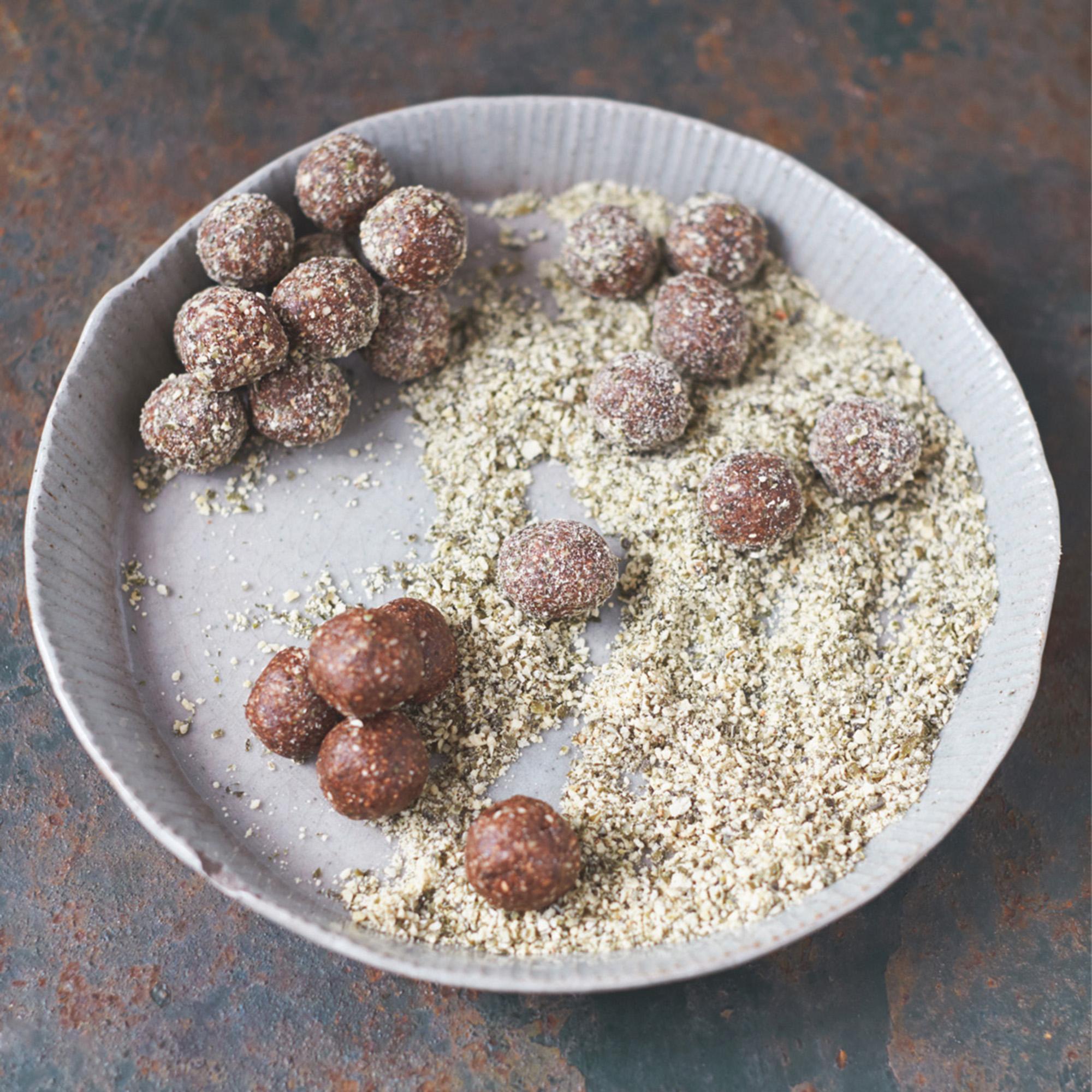 Jamie Olivers Tasty Energy Balls Recipes Womanhome