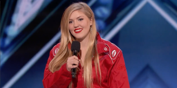Watch America's Got Talent's Female Daredevil In Incredible Exploding Coffin Act