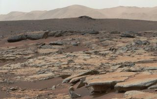Gale Crater Erosion