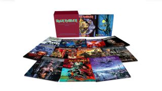The Iron Maiden vinyl collection