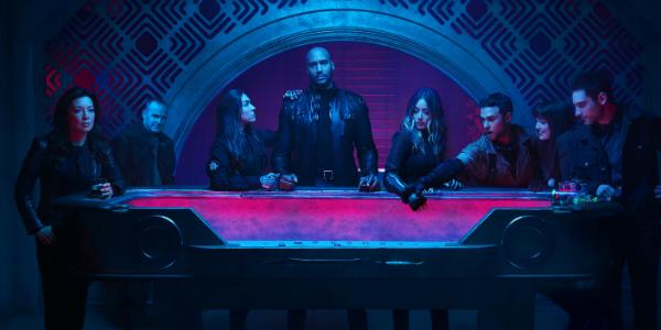 """Agents of S.H.I.E.L.D. Ming-Na Wen Melinda May Clark Gregg Sarge Natalia Cordova-Buckley Elena """"Yo-Y"""
