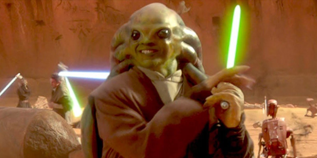 Zac Jensen as Kit Fisto in Star Wars: Episode II - Attack of the Clones