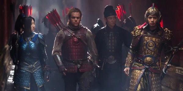 The Great Wall Matt Damon And Co-Stars
