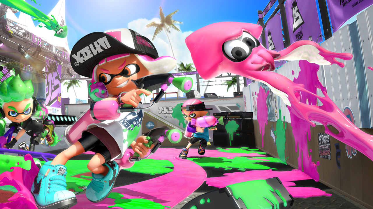 splatoon 2 review bright colours and squelchy sounds draw you into