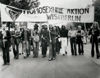 Homosexual Aktion West Berlin was founded in 1971.