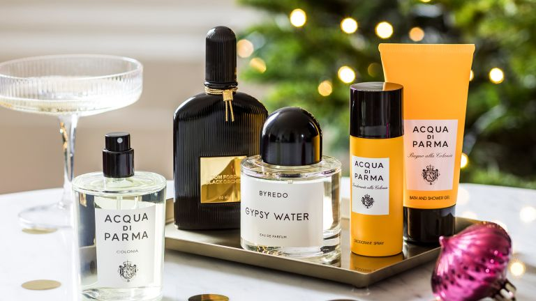 A selection of perfumes from Space NK