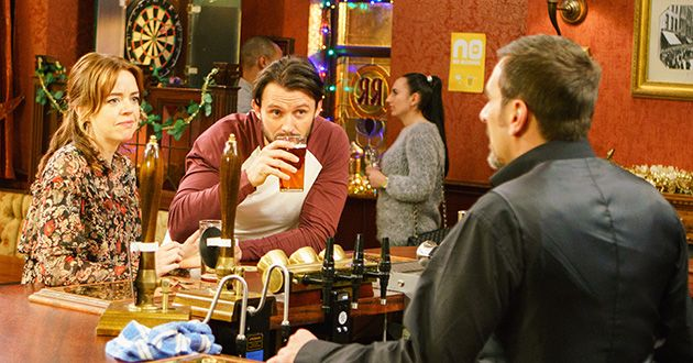 Carla Connor, Aidan Connor, Steve McDonald, Tracy Barlow