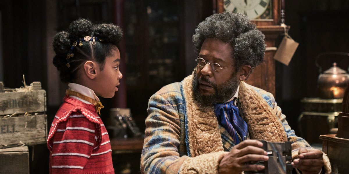 Madalen Mills and Forest Whitaker in Jingle Jangle: A Christmas Journey