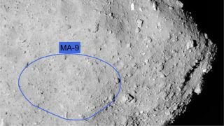 Hayabusa2 Lander's Touchdown Site