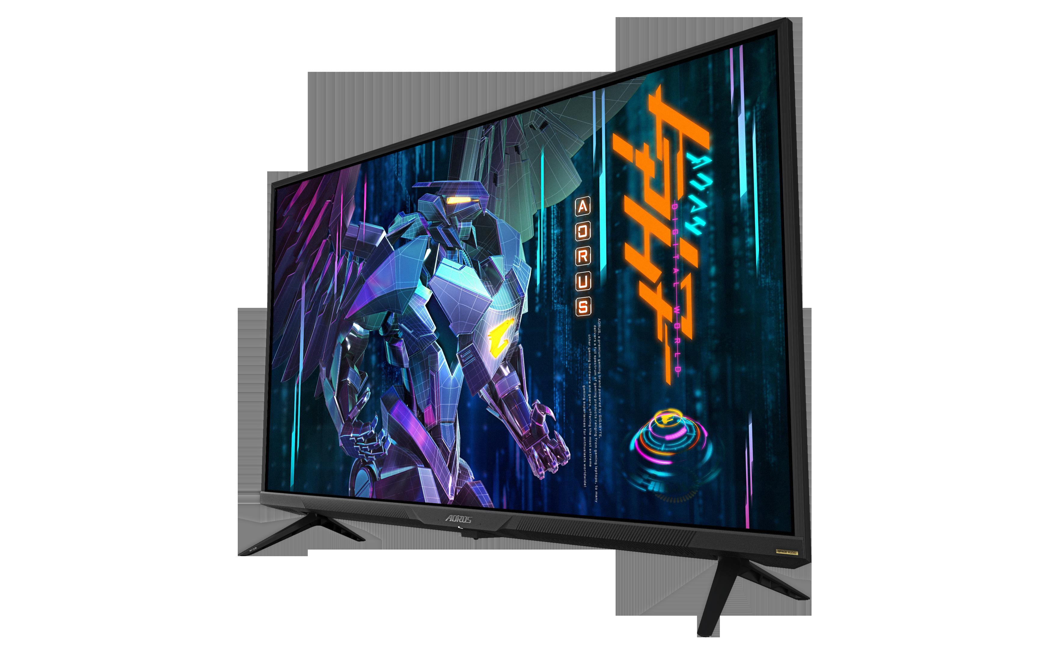 Gigabyte FV43U 4K gaming monitor