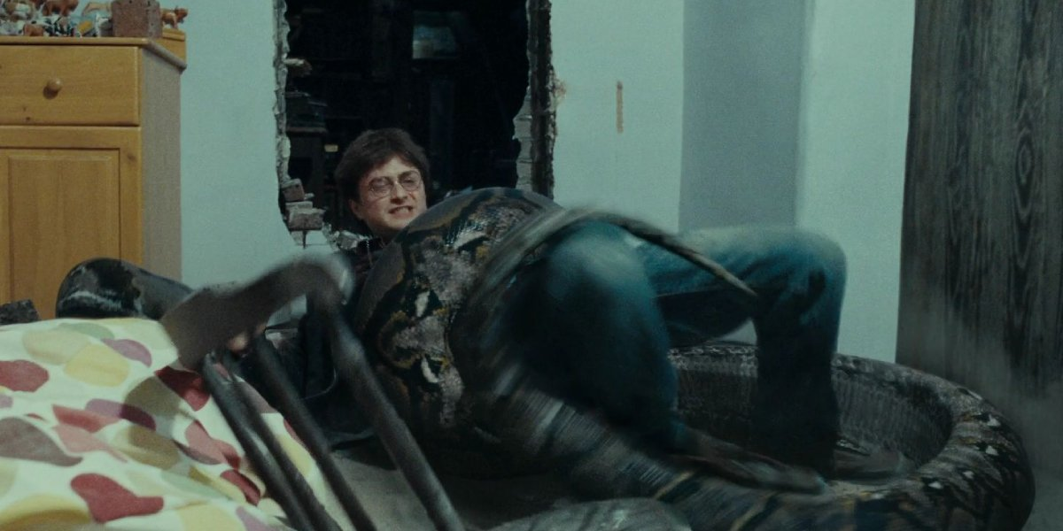 Daniel Radcliffe in Harry Potter and the Deathly Hallows: Part 1