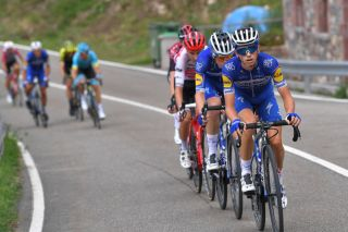 James Knox (Deceuninck-Quickstep) on stage 16 of the 2019 Vuelta a Espana