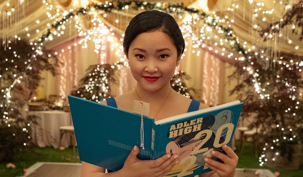 Lana Condor as Lara Jean in All The Boys: Always and Forever ending