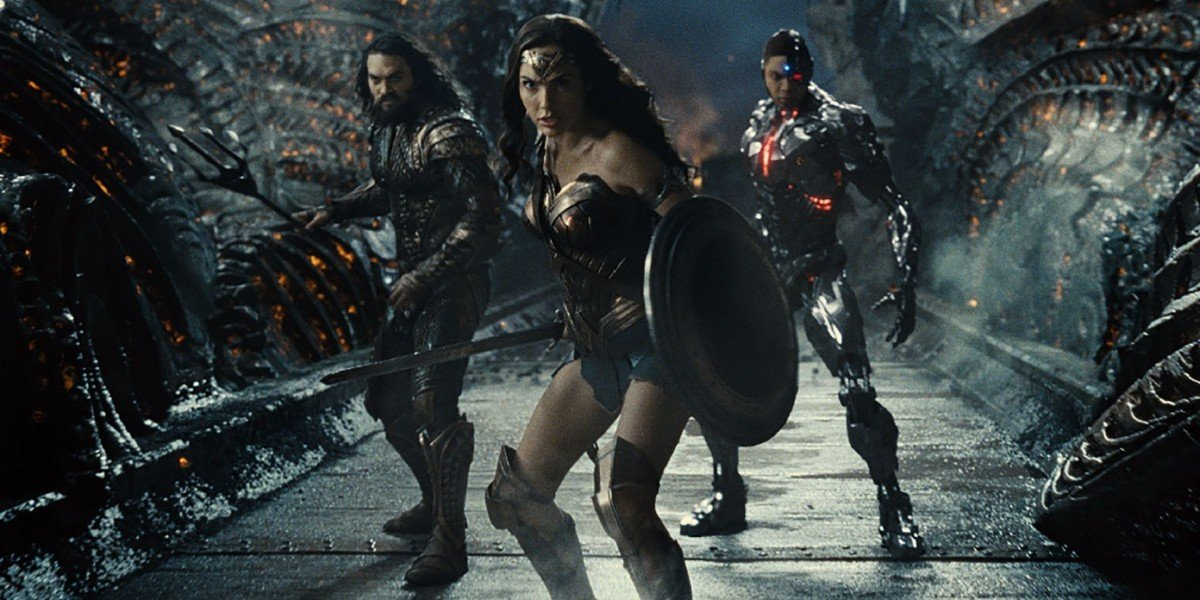 Wonder Woman, Aquaman and Cyborg are ready to fight in Zack Snyder's Justice Leagaue (2021)