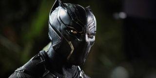Black Panther's mask