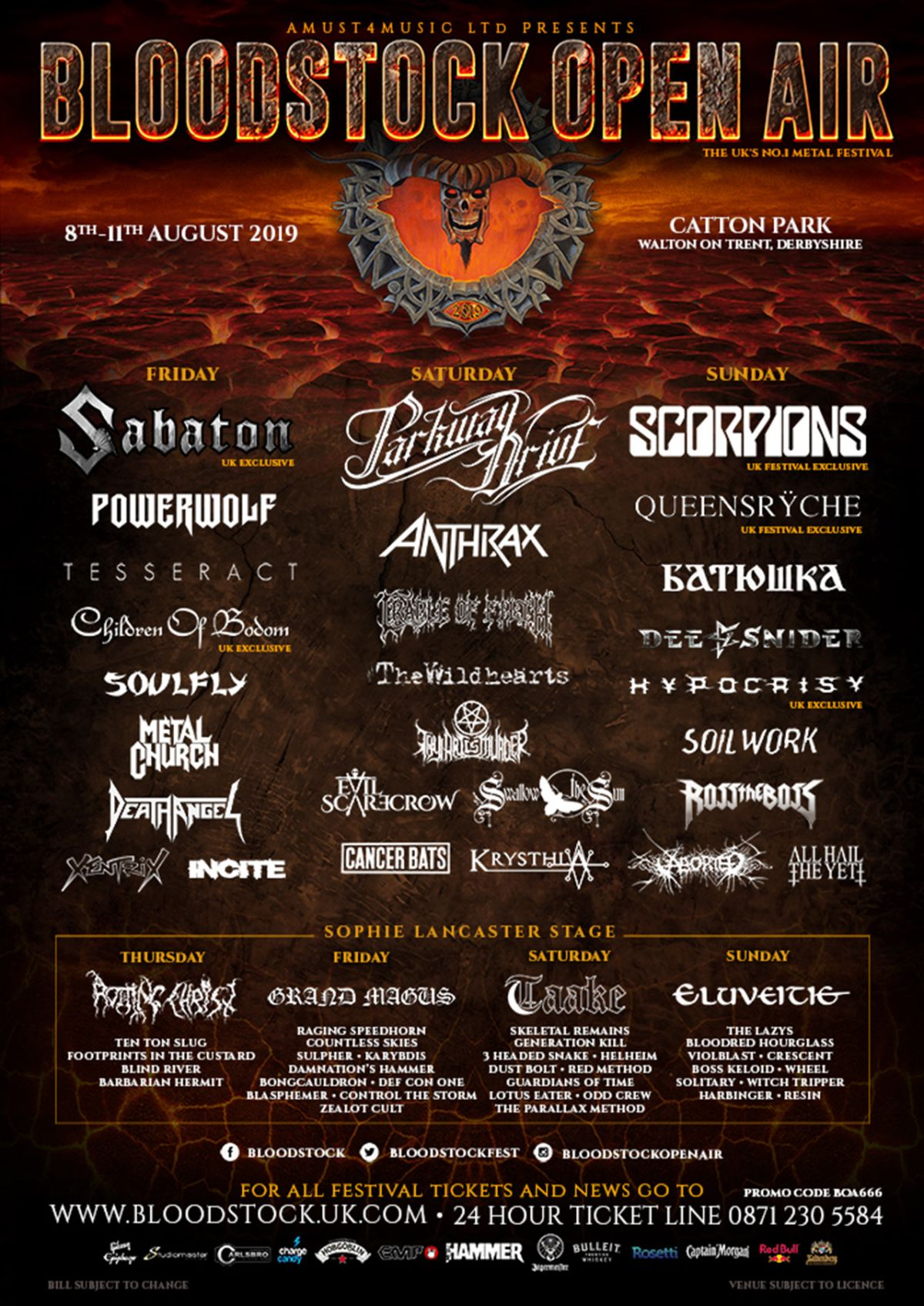 Dimmu Borgir forced to cancel Bloodstock Open Air set | Louder