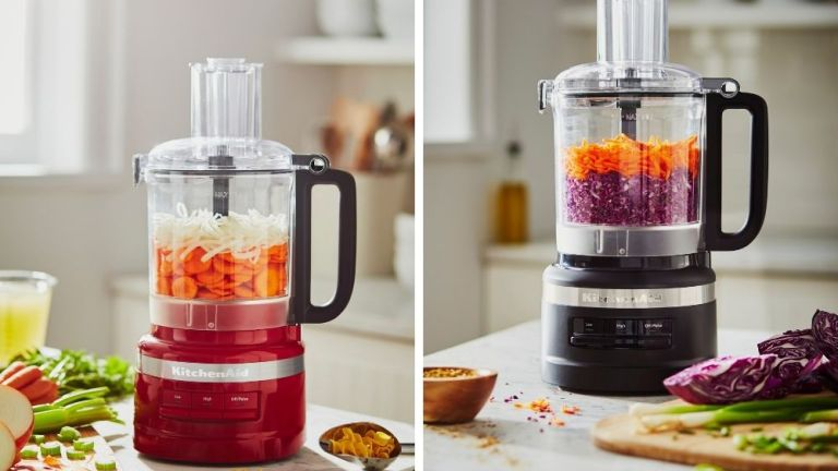 How to use a KitchenAid food processor