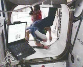 Astronauts Open Space Station's Newest Lab