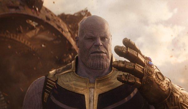 Thanos Avengers Infinity War Gauntlet