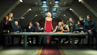 An image from Battlestar Galactica - one of the best shows on Amazon Prime Video
