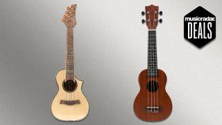 Ukutune ukulele deal: Ukutune UKR15 and UKS1