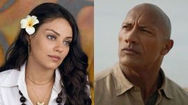 Mila Kunis Congratulates The Rock On Showering While Reflecting On Viral Bathing Comments About Ashton Kutcher And Her Family
