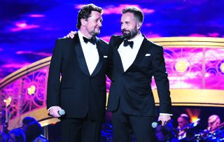 After teaming up to huge success last year, Michael Ball and Alfie Boe are back with another all-singing, all-dancing musical treat.