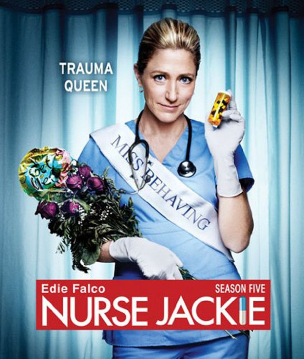 nurse Jackie season 5 box