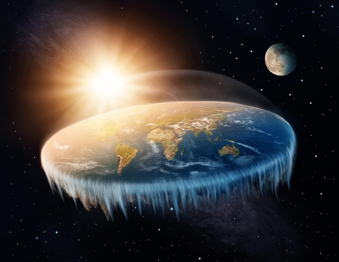 Gagasan Bumi Datar, Gagasan Penentang Teori Sains yang Paling Fenomenal