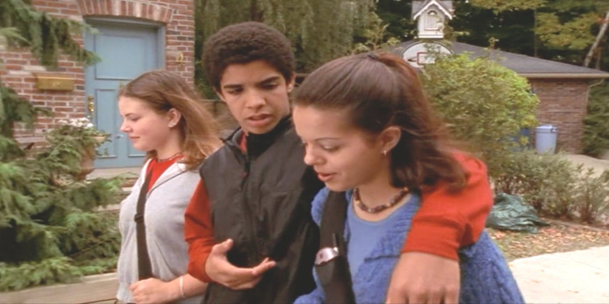 An episode of Degrassi on Pluto TV